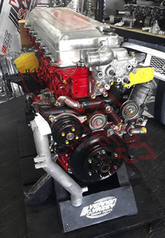 HINO ENGINE E13C - TURBO/INTERCOOLED - 12913CC