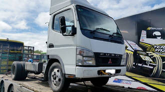 TRUCK - 4M42 - BLOWN - MITSUBISHI CANTER FE130C1 - 2006