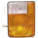 CORNER LAMP - R/H - AMBER/CLEAR - 85-87 - NISSAN CW53/CW54/CW55 1984-92
