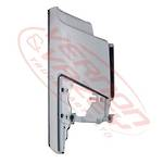 FRONT CORNER PANEL - R/H - W/O MIRROR (GENUINE) - ISUZU FORWARD FRR/FSR/FTR/FVR 2008 - H/L IN CORNER PANEL