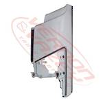 FRONT CORNER PANEL - L/H - W/O MIRROR (GENUINE) - ISUZU FORWARD FRR/FSR/FTR/FVR 2008 - H/L IN CORNER PANEL