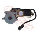 WINDOW REGULATOR MOTOR - L/H - 12v