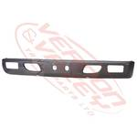 FRONT BUMPER - WIDE - BLACK - W/FOG HOLE