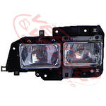 HEADLAMP - L/H - TWIN TYPE