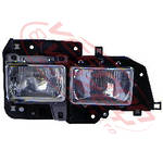 HEADLAMP - R/H - TWIN TYPE