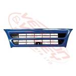GRILLE - NARROW - MAT BLUE - 1 BAR