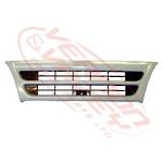 GRILLE - NARROW - MAT WHITE - 1 BAR
