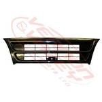GRILLE - NARROW - MAT BLACK - 1 BAR