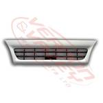 GRILLE - NARROW - WHITE - 2 BAR  2001-