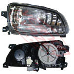 HEADLAMP - R/H - W/CLEAR FOG LAMP - TO SUIT - HINO RANGER PRO FC/FD/FG/FM 2002-