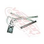 WINDOW REGULATOR - L/H - ELECTRIC W/O MOTOR - MERCEDES BENZ ACTROS - MP2