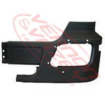 FRONT BUMPER END - W/O FOG HOLE - L/H - MERCEDES BENZ ACTROS - MP2