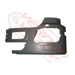 FRONT BUMPER END - W/O FOG HOLE - L/H - MERCEDES BENZ ACTROS - MP3