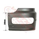 FRONT BUMPER END - HIGH CAB - L/H - MERCEDES BENZ ATEGO - 973