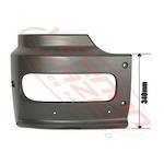 FRONT BUMPER END - HIGH CAB - R/H - MERCEDES BENZ ATEGO - 973