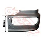 FRONT BUMPER END - LOW CAB - R/H - MERCEDES BENZ ATEGO - 973