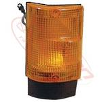 CORNER LAMP - LENS - L/H - AMBER - EARLY - MITS CANTER FE444/FK330/FE335 84-94