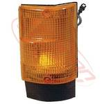 CORNER LAMP - LENS - R/H - AMBER - EARLY - MITS CANTER FE444/FK330/FE335 84-94
