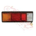 REAR LAMP - L/H - WITH SURROUND - MITS CANTER FE444/FK330/FE335 84-94