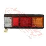 REAR LAMP - R/H - WITH SURROUND - MITS CANTER FE444/FK330/FE335 84-94