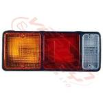 REAR LAMP - R/H - SQUARE SOCKET - MITS CANTER FE444/FK330/FE335 84-94