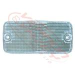 REAR LAMP - LENS - L/H=R/H - CLEAR - MITS CANTER FE444/FK330/FE335 84-94