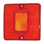 REAR LAMP - LENS - L/H=R/H - RED - MITS CANTER FE444/FK330/FE335 84-94