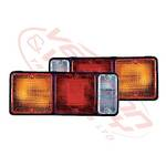 REAR LAMP - LENS - L/H=R/H - COMPLETE SET - MITS CANTER FE444/FK330/FE335 84-94