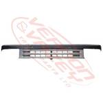 GRILLE - SILVER - SQ H/L - NARROW CAB - 91-94 - MITS CANTER FE444/FK330/FE335 84-94