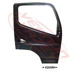FRONT DOOR SHELL - R/H - W/ARM HOLE - W/CAB - MITSUBISHI CANTER FE7/FE8 2005-