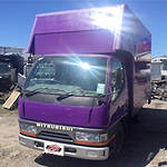 1997 BOX BODY CANTER - MITSUBISHI CANTER