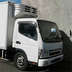 REFRIDGERATED BOXBODY FE8 MITSUBISHI CANTER 2006 - MITSUBISHI CANTER