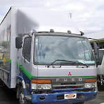 TRUCK - BLOWN ENGINE - MITSUBISHI FIGHTER FK612 1996